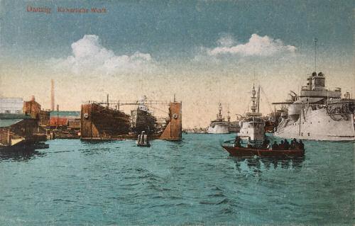 Danzig, Kaiserliche Werft