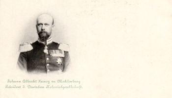 Johann Albrecht Herzog zu Mecklenburg