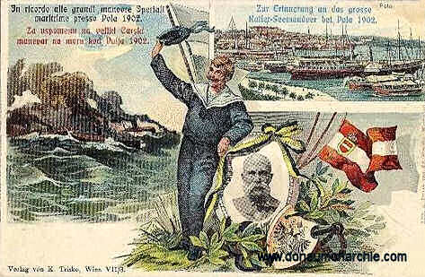 Zur Erinnerung an das Kaiser-Seemanöver Pola 1902