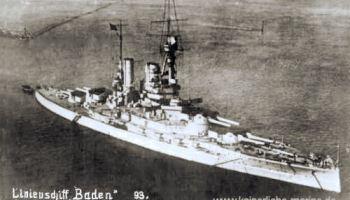 S.M.S. Baden, Linienschiff