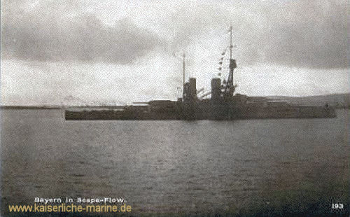 S.M.S. Bayern in Scapa Flow