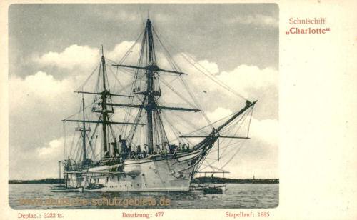 S.M.S. Charlotte, Schulschiff