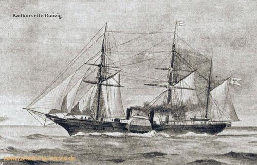 S.M.S. Danzig, Radkorvette