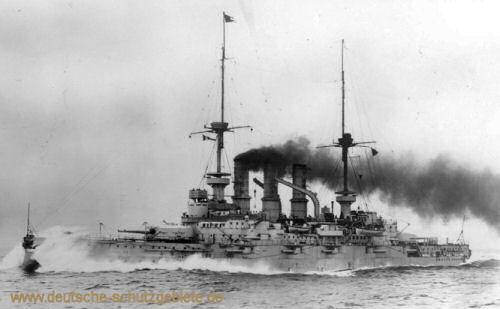 S.M.S. Deutschland, Linienschiff