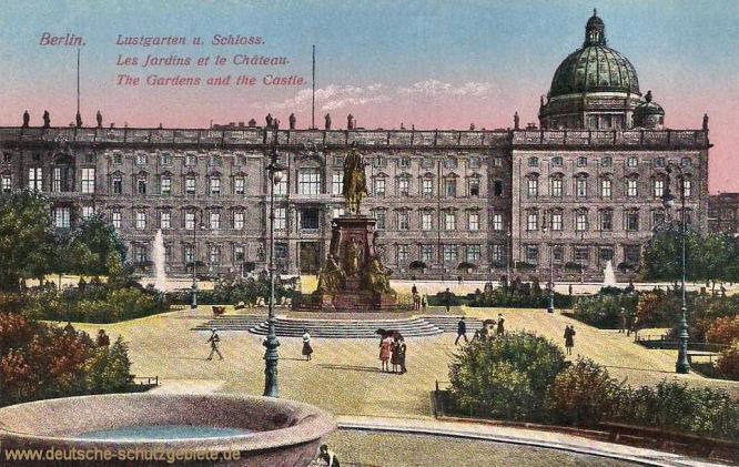 Berlin, Lustgarten und Schloss