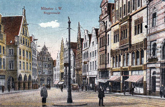 Münster i. W., Roggenmarkt