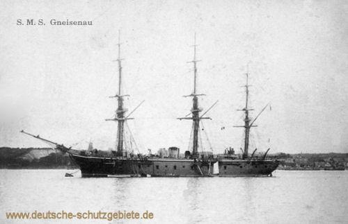 S.M.S. Gneisenau, Kreuzerfregatte