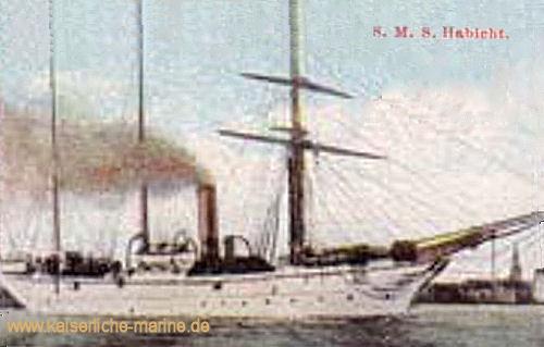 S.M.S. Habicht, Kanonenboot