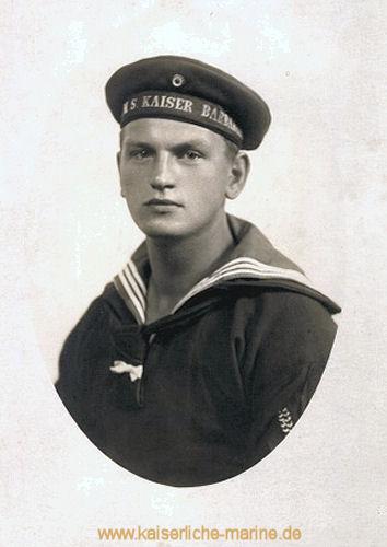 S.M.S. Kaiser Barbarossa, Walter Risse