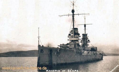 S.M.S. Kaiserin in Scapa Flow