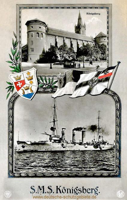 Königsberg i. P und S.M.S. Königsberg