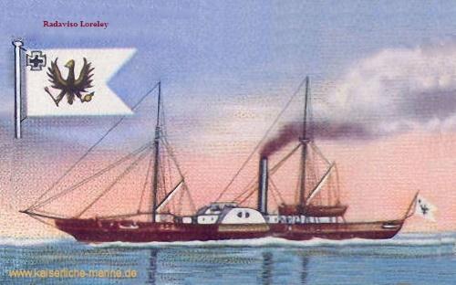 S.M.S. Loreley, 1859
