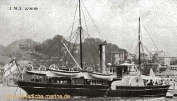 S.M.S. Loreley, Radaviso
