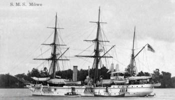 S.M.S. Möwe, Kanonenboot