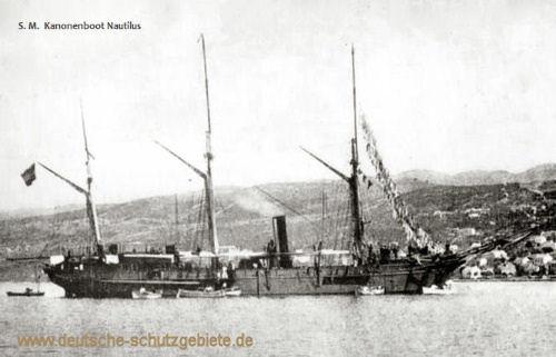 S.M.S. Nautilus, Kanonenboot
