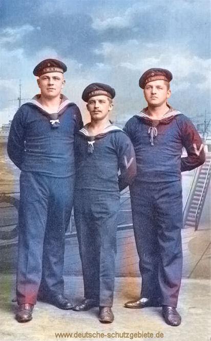 S.M.S. Preußen, 3 Besatzungsmitglieder