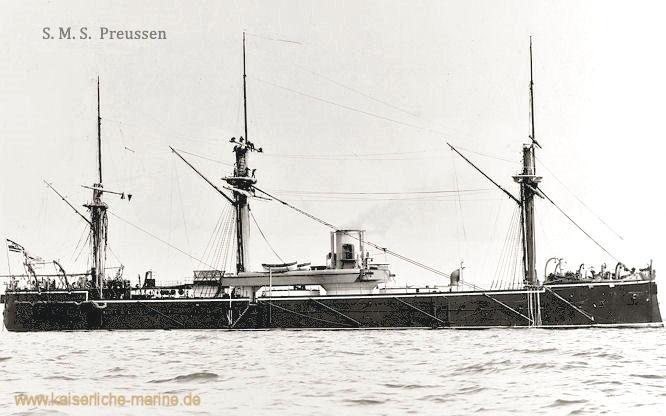 S.M.S. Preussen, Panzerfregatte