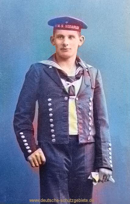 S.M.S. Seeadler, Besatzungsmitglied