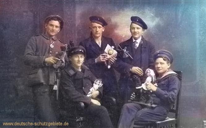 S.M.S. Thüringen, Besatzungsmitglieder