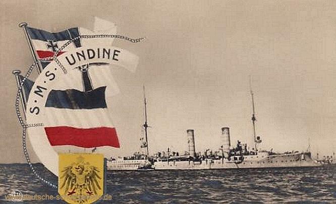 S.M.S. Undine, Kleiner Kreuzer