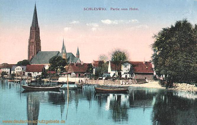 Schleswig, Partie vom Holm