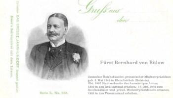 Bernhard von Bülow