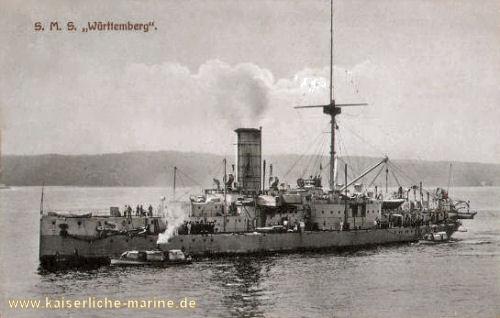 S.M.S. Württemberg, Panzerkorvette