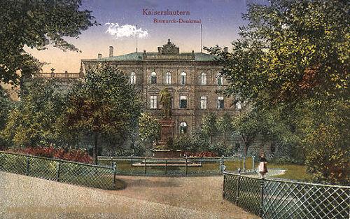 Kaiserslautern, Bismarck-Denkmal
