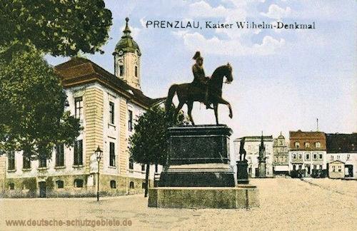 Prenzlau, Kaiser Wilhelm-Denkmal