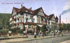 Kiel, Logirhaus, Seebadeanstalt