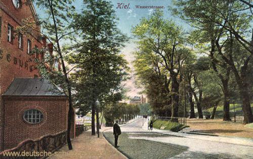 Kiel, Wasserstraße