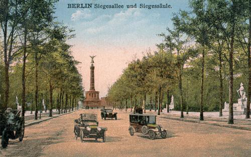 Berlin, Siegesallee und Siegessäule