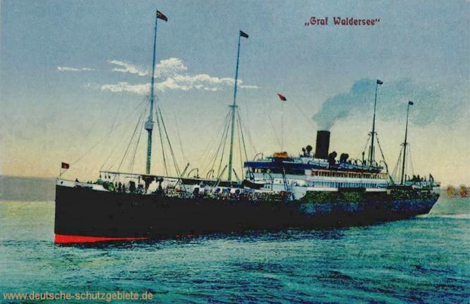 HAPAG-Dampfer Graf Waldersee