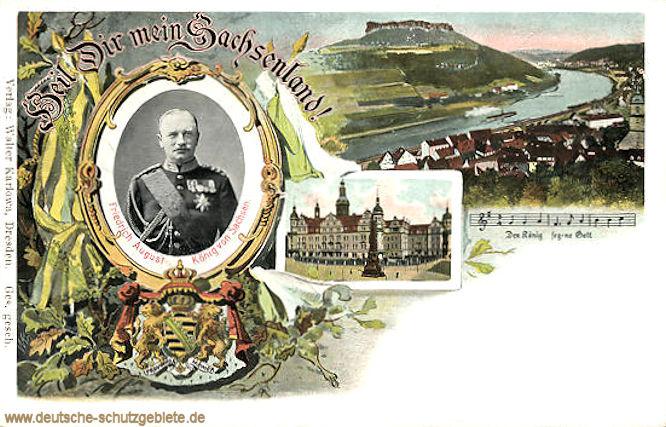 Heil Dir mein Sachsenland!