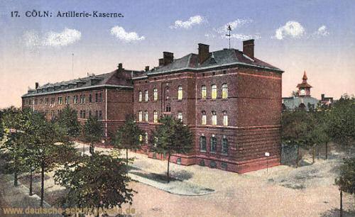 Köln, Artillerie-Kaserne