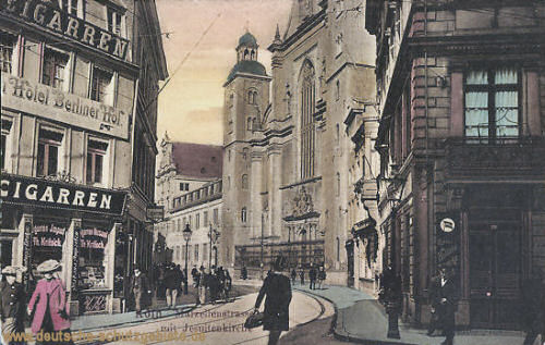 Köln, Marzellenstraße mit Jesuitenkirche