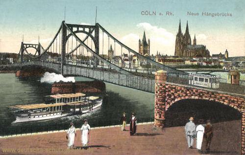Köln, Neue Hängebrücke