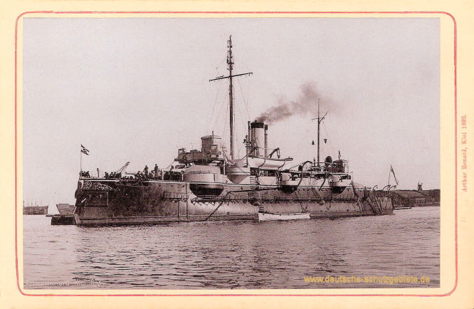 S.M.S. Beowulf, 1897