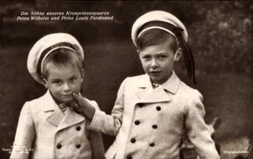 Prinz Wilhelm und Prinz Louis Ferdinand von Preußen