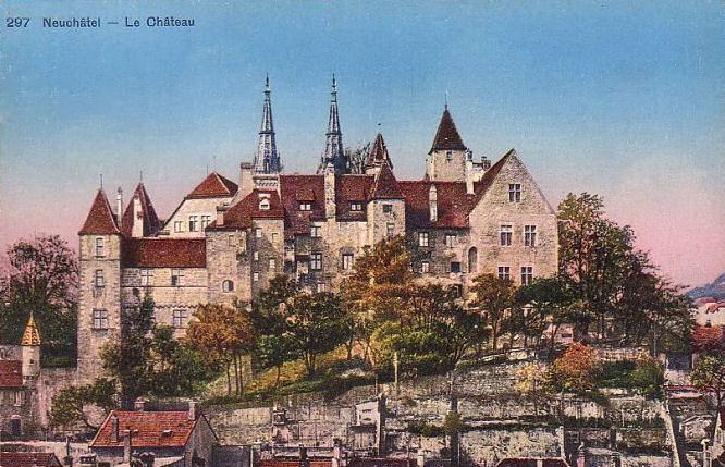 Neuenburg, Schloss