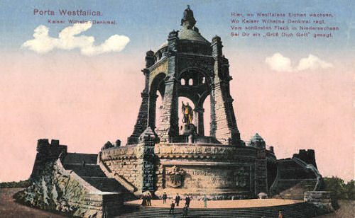 Porta Westfalica Kaiser Wilhelm-Denkmal