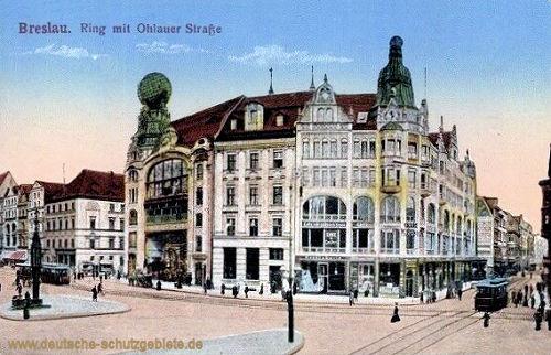 Breslau, Ring mit Ohlauer Straße