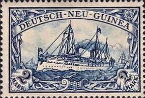 Deutsch-Neu-Guinea Nr. 17, 2 Mark