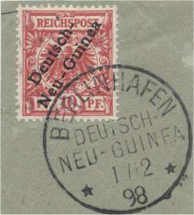 Berlinhafen Deutsch-Neu-Guinea 1/2 98