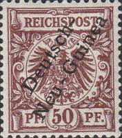 Deutsch-Neu-Guinea Nr. 6, 50 Pfennig