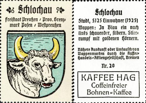 Schlochau, Wappen