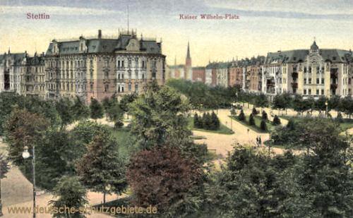Stettin, Kaiser Wilhelm-Platz