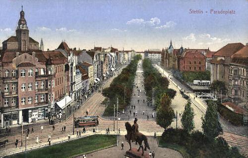 Stettin, Paradeplatz