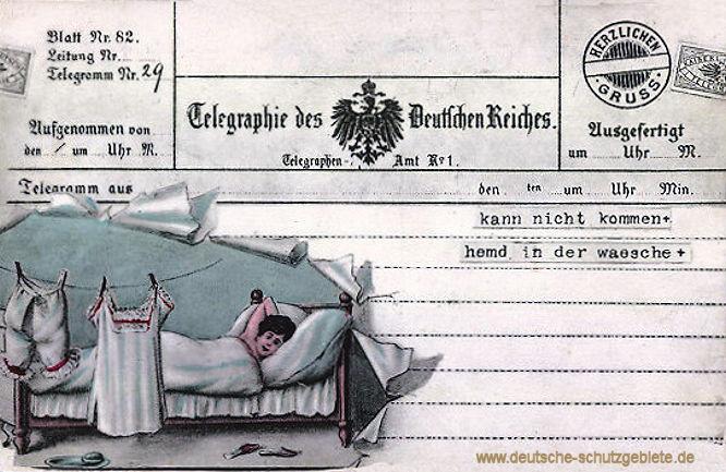 Telegraphie des Deutschen Reiches