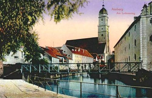 Amberg, Am Lederersteg